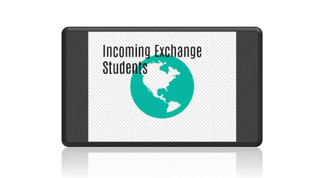 "Towards entry ""Incoming exchange students"""